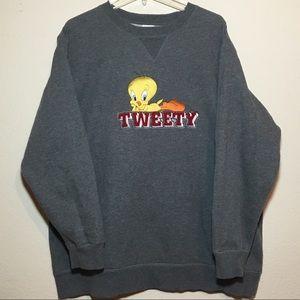 Vintage Looney Toons Sweatshirt  XL
